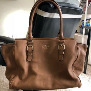 Kate Spade brown leather handbag